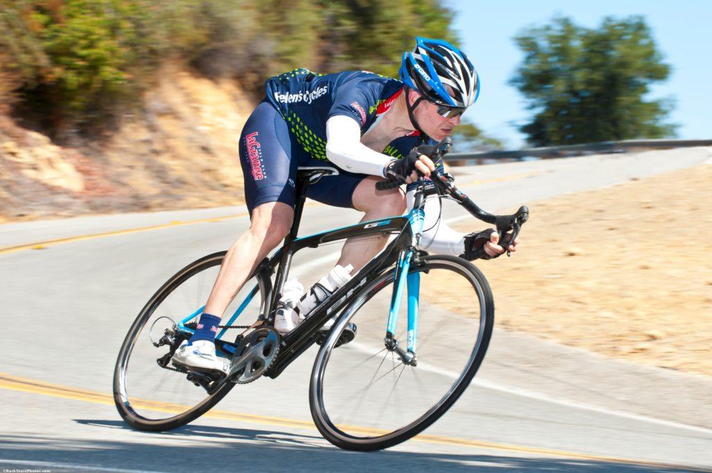 Bill Robbins is an avid cyclist